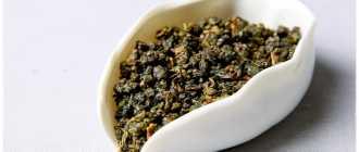Чай Улун — полуферментированный китайский чай