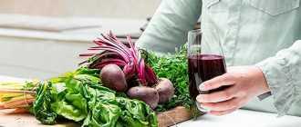 Сок из свеклы: польза и вред лечебного корнеплода